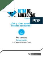 Documentos Primaria Comunicacion V