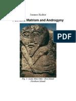 Patrism, Matrism and Androgyny