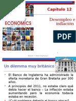 Desempleo e Inflación