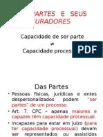 Partes - Capacidades