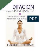 Meditación para Principiantes.pdf