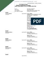 Octavius Johnson v City of Omaha, 8-14-cv-00004-LES-FG3 (Filed 6 Jan 2014) DOCKET REPORT