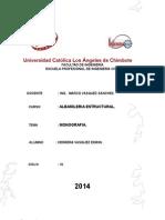 Monografia de Puentes y Albañileria Primera Parte