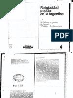 Chapp, Maria Ester_La Religiosidad Popular en Argentina
