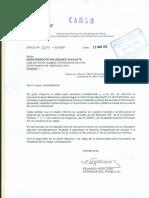 Informe de la Defensoría del Pueblo en el caso de los correos electrónicos del ex ministro Eleodoro Mayorga