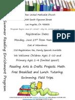 2015 summer reading program new