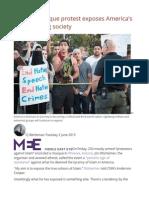 Phoenix Mosque Protest Exposes America's Disintegrating Society
