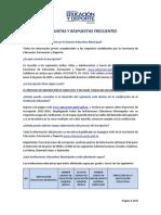 FAQ's sobre el ingreso al sistema educativo municipal by Secretaria de Educación Municipio de Quito