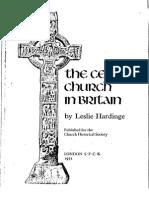 [Leslie Hardinge] the Celtic Church in Britain
