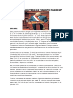 Gobierno Transitorio de Valentin Paniagua