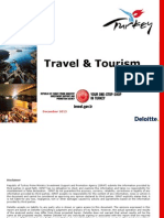 Tourism Industry in Turky