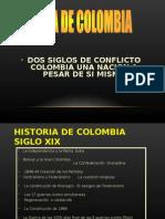 Historia de Colombia, dos siglos.ppt