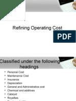 Cost Estimation and VI