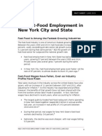 NELP Fact Sheet Fast Food Employment New York[2]