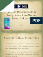 Test de Desarrollo de La Integración Viso-Motora. Leonardo Vidal