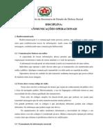 Disciplina - Comunicações Operacionais.pdf