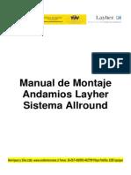 Manual de Montaje y Procedimientos Sistema Allround (1)