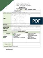 Instrucciones de Control de Programa