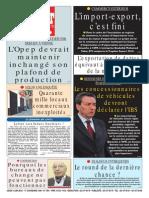 Le Soir Dalgerie Du 04.06.2015