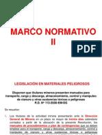 Marco Normativo 2 Materiales peligrosos