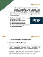 Falacias III°