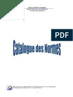 Catalogue Normalisation Maj2012