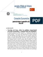 CRONACHE ECONOMICHE 2009 - 30