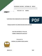 Tesis Auditorias Para Fabricantes de Dispositivos Medicos