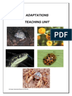 Adaptations Teaching Unit