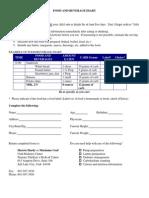 Diabetes Clinic Food Records