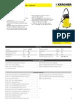 Aspiratore solidi/liquidi Karcher NT 48-1