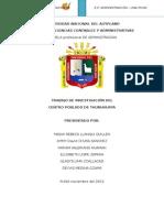 Centro Poblado de Thunuhuaya - Acora-final- 14 05 14