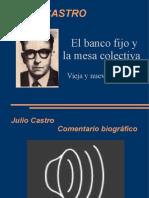 Julio Castro El banco fijo y la mesa colectiva