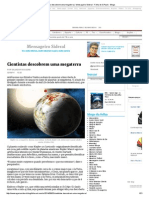 Cientistas Descobrem Uma Megaterra _ Mensageiro Sideral - Folha de S