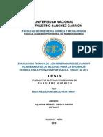 Tesis Evaluacion de Calderas ASME PTC 4-2008