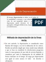 Métodos de Depreciación (4 metodos)