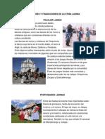 Costumbres y Tradicciones de La Etnia Ladina