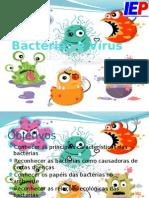 Aula Bactérias e Vírus