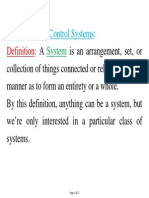 1.1 Chapter 1 Introduction to Control Systems, 23 Pages
