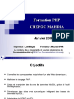 Program Mat Ion Web Dynamique en PHP