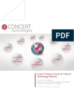 Lower Project Costs and Time of Technology Rollouts White Paper