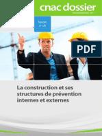 La Construction Et Ses Structures de Prévention Interne Et Externes