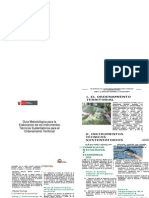Guía Metodológica Para La Elaboración de Los Instrumentos Técnicos Sustentatorios Para El Ordenamiento Territorial
