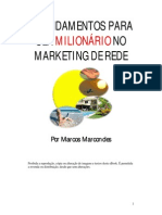 8 Fundamentos Para Ser Milionário No Marketing Multinível