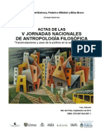 Actas v Jornadas Nac AF 2014