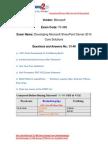 Braindump2go New Updated 70-488 Practice Exams Questions Free Download (31-40)