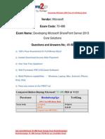 Braindump2go New Updated 70-488 Practice Tests Free Download (41-50)