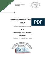Manual de Convivencia U.E.I. El Prado