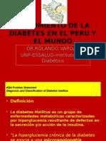 Crecimiento de La Diabetes en El Peru y