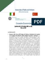 CRONACHE ECONOMICHE 2009 - 28